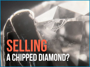 Need to sell a chipped diamond